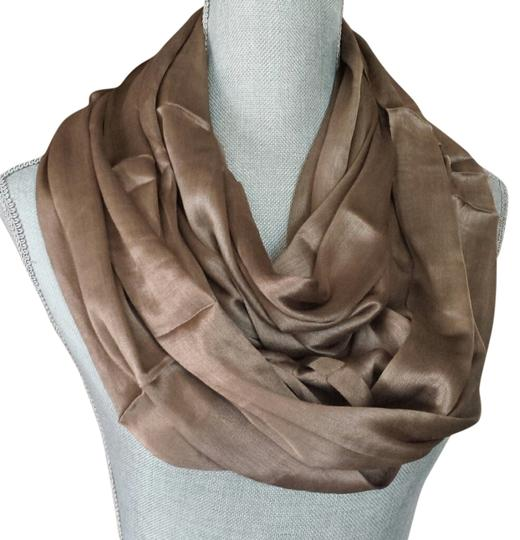 Preload https://item2.tradesy.com/images/khaki-infinity-scarfwrap-1102531-0-0.jpg?width=440&height=440