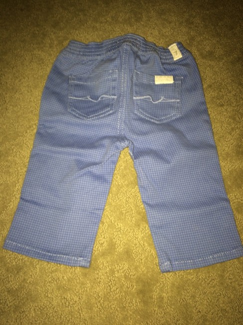 7 For All Mankind 3 piece BOXED 3-6 mo JEANS 6-9 mo TSHIRT AND BIB Image 3