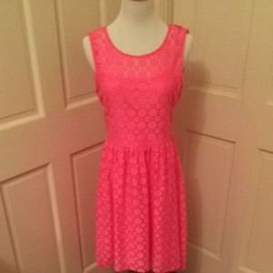 H&M short dress Hot pink on Tradesy