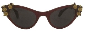 Schiaparelli Schiaparelli Floral Cat Eye Sunglasses