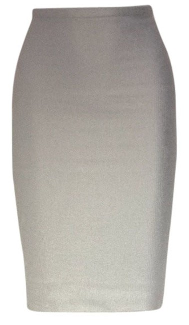 Item - Silver Pencil Skirt Size 2 (XS, 26)