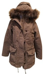 Gap Parka Faux Fur Small Coat
