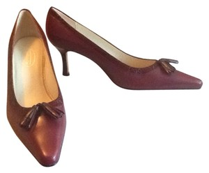 Talbots Burgandy Pumps