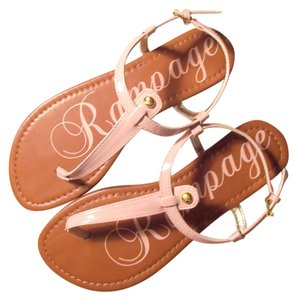 Rampage pinkish nude Sandals