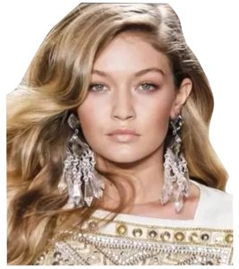 Balmain x H&M H&M X Balmain Rhinestone Chandelier Earrings