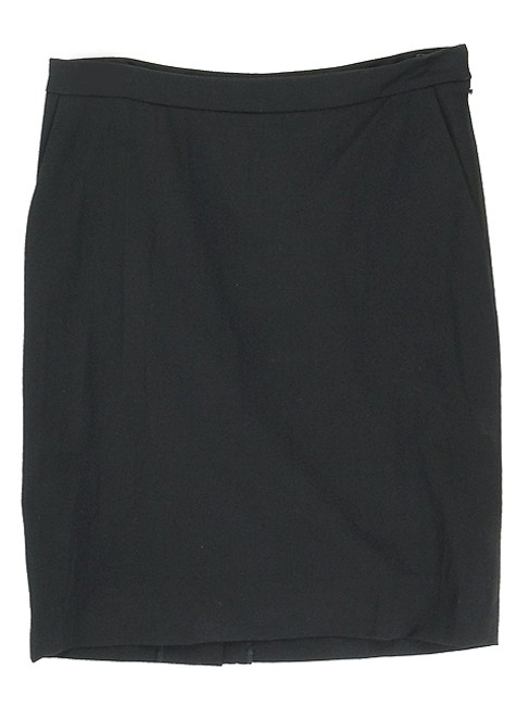 Saint Laurent Wool Pencil Party Mini Classic Mini Skirt Black
