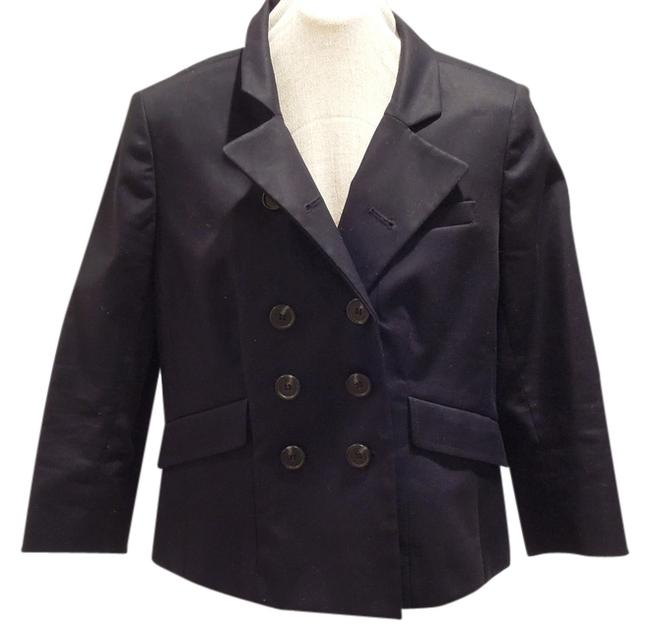 Preload https://item3.tradesy.com/images/ann-taylor-loft-black-preppy-double-breasted-34-sleeve-blazer-size-petite-6-s-1102967-0-0.jpg?width=400&height=650