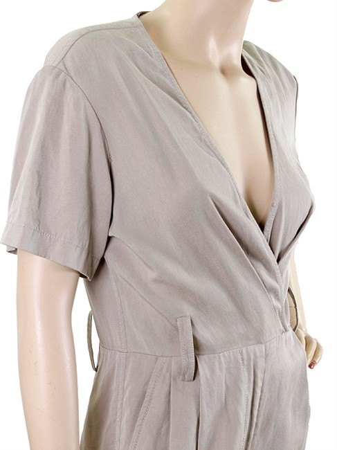 3.1 Phillip Lim 3.1 Phillip Lim Suit - Khaki Cotton Short Sleeve Jumpsuit