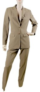Calvin Klein Calvin Klein Collection Suit - Brown Wool Trouser Suit