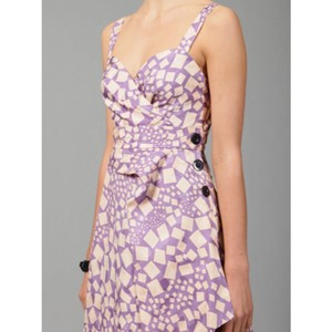Marc by Marc Jacobs short dress Purple + varied on Tradesy