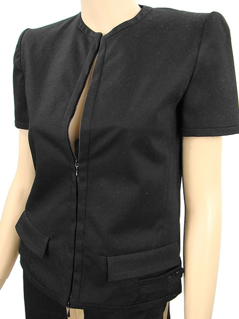 Jean-Paul Gaultier Jean Paul Gaultier Suit - Black Cotton Pant Suit