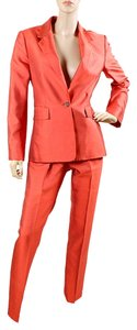Michael Kors Michael Kors Suit - Red Silk Shantung Pant Suit