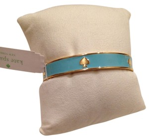 Kate Spade Kate Spade New York, KS Bangles Light Blue Spade Bangle
