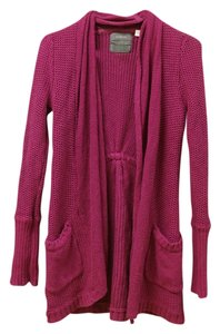 Anthropologie Knit Guinevere Knit Pink Cardigan