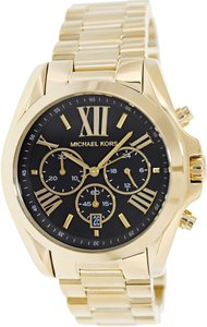 Michael Kors Michael Kors Men's Bradshaw MK5739 Gold Stainless-Steel Quartz Watch