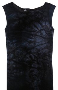 navy blue Maxi Dress by Jonathan Martin Sleeveless Velvet