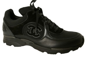 Chanel Canvas And Leather Cc Black Athletic