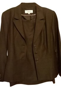 Calvin Klein Beautiful charcoal skirt suit