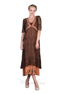 Nataya Terracotta Nataya 40007 Vintage Style Wedding Dress
