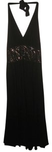 Jones New York Flowy Embellished Empire Waist Dress