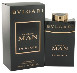 BVLGARI Bvlgari MAN IN BLACK Mens Cologne 3.4 oz 100 ml Eau De Parfum Spray
