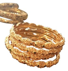 Bright golden indian Bangles
