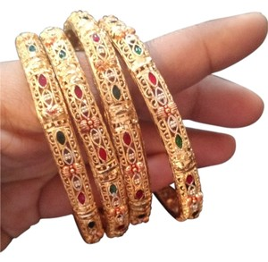Other Bright golden Indian bangles