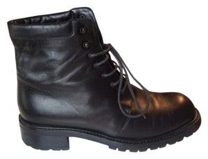 La Collegienne Leather Boot Black Boots