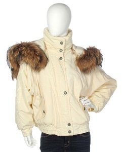 Bogner Fur Ski Bg.ej1211.05 Raccoon Trim Coat