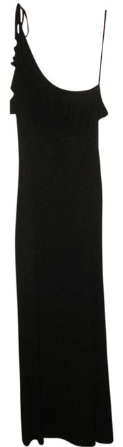 Item - Black Long Formal Dress Size 8 (M)