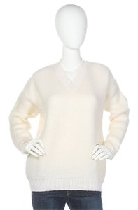 Stella McCartney V Neck Wool White Sm.ej1211.11 Sweater