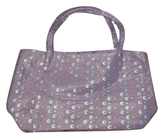 Other Girls Pink Sequin Handbag Tote Style Bag NEW Sequined Purse
