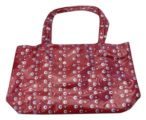 Girls Red Sequin Handbag Tote Style Bag NEW Sequined Purse