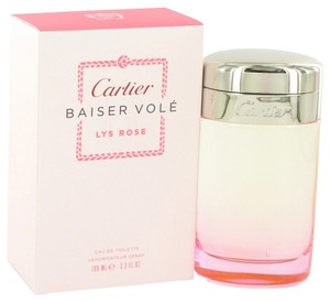 Cartier Cartier BAISER VOLE LYS ROSE Womens Perfume 3.3 oz 100 ml Eau De Toilette Spray