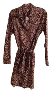 Diane von Furstenberg short dress Leopard on Tradesy
