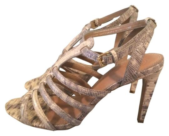 Tory Burch Snakeskin Sandals Image 0