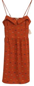 Everly short dress Orange on Tradesy