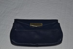 Vince Camuto Navy Clutch
