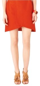 Kate Spade Mini Skirt Red-Orange