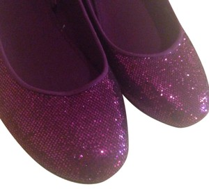 H&M Flat Purple Flats