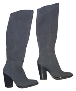 Design Lab Grey/gris suede Boots