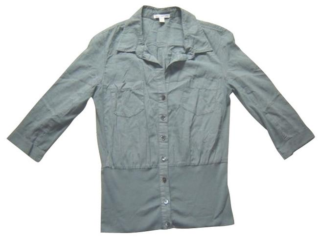 Preload https://item5.tradesy.com/images/james-perse-gray-button-down-top-size-8-m-1104-0-0.jpg?width=400&height=650