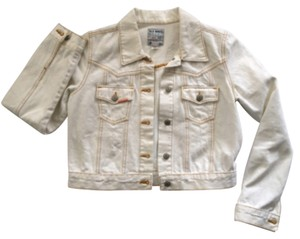 Old Navy Cream Womens Jean Jacket