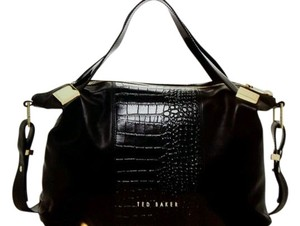 Ted Baker Leather Satchel in Black