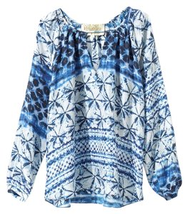 Rory Beca Top BLUE AND WHITE