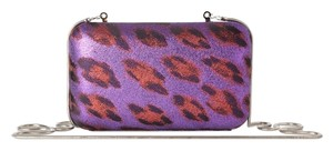 French Connection Purple Clutch