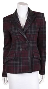 Marissa Webb Plaid Blazer