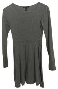 Forever 21 short dress Grey Longsleeve on Tradesy