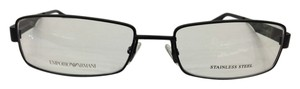 Emporio Armani Emporio Armani Eyeglasses EA9677 Color PDE Matte Black Frame 53mm 17mm 140mm New