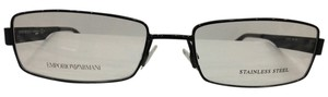 Emporio Armani Emporio Armani Eyeglasses EA9677 Color FNB Shiny Black Frame 53mm 17mm 140mm New